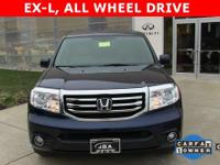 2015 Honda Pilot EX-L AWD in Obsidian Blue Pearl with