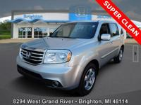 Options:  2015 Honda Pilot Ex-L|Silver|Carfax