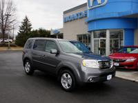 2015 HONDA PILOT EX-L, 4WD, V6, LEATHER, SUNROOF, ONE