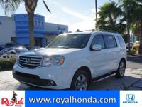 Options:  2015 Honda Pilot Ex-L 2Wd|This Vehicle Has A