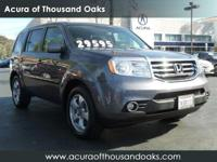 Options:  2015 Honda Pilot Ex-L|Gray/|V6 3.5 L