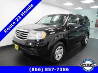 Scores 24 Highway MPG and 17 City MPG! This Honda Pilot