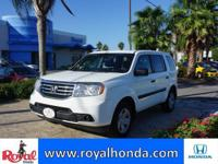 Options:  2015 Honda Pilot Lx 2Wd|This Vehicle Has A