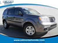 This outstanding example of a 2015 Honda Pilot LX is