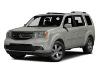 2015 Honda Pilot  4WD.  Could this be the vehicle for