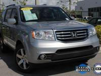 ONE-OWNER, CLEAN CARFAX, and HONDA CERTIFIED. Pilot