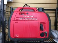2015 Honda Power Equipment EU2000i Companion hook me to