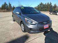 Check out this gently-used 2015 Hyundai Accent we