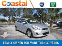 This 2015 Hyundai Accent GLS in Gray features: FWD New