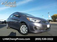 Come see this capable 2015 Hyundai Accent GLS. Wheels: