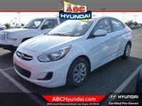 Hyundai Certified and Beige w/Cloth Seat Trim or