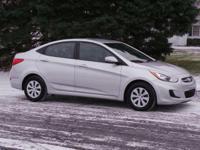 Options:  2015 Hyundai Accent Gls|Silver/|V4 1.6 L