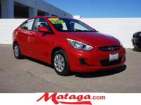 2015 Hyundai Accent GLS in Boston Red Metallic with