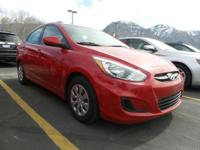 Check out this versatile 2015 Hyundai Accent GLS.