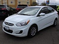 New Price! Hyundai Accent White Recent Arrival! 37/26