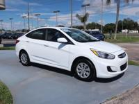CARFAX One-Owner. Certified. White 2015 Hyundai Accent