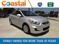 This 2015 Hyundai Accent GLS in Silver features: FWD