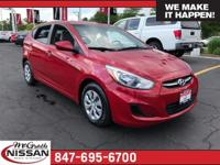 2015 Hyundai Accent GS CARFAX One-Owner. Clean Vehicle