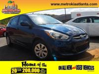 For a smoother ride, opt for this 2015 Hyundai Accent
