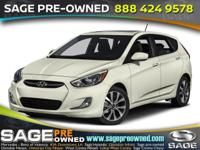 Outstanding design defines the 2015 Hyundai Accent! It