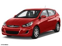 2015 Hyundai Accent GS  in Pacific Blue Pearl and One