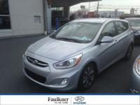 Local Trade & Low Miles, This 2015 Accent 5 Door Is