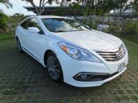 Diamond White Pearl 2015 Hyundai Azera FWD 6-Speed