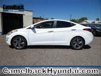 Elantra Limited, 4D Sedan, 4-Cylinder, FWD, Pearl, and