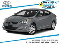 This 2015Hyundai ELANTRA SE will sell fast!! SAVE MONEY