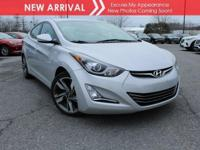 New arrival! 2015 Hyundai Elantra Limited! Only 19,782