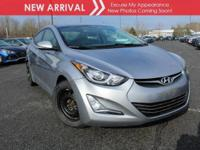 New arrival! 2015 Hyundai Elantra Limited! Only 27,710