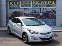 Silver 2015 Hyundai Elantra Limited FWD 6-Speed