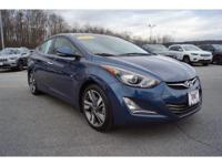 This outstanding example of a 2015 Hyundai Elantra