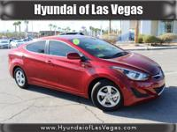Elantra SE, Hyundai Certified, 4D Sedan, and Venetian