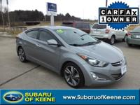 Outstanding design defines the 2015 Hyundai Elantra! A