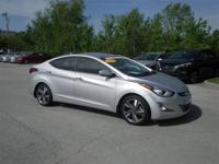 This 2015 Hyundai Elantra Limited is offered to you for