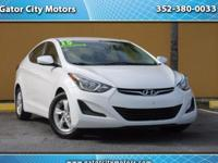 2015 Hyundai Elantra SE 6ATFOR SALE in Gainesville near
