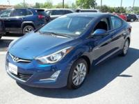 This terrific Elantra is the family-friendly Sedan
