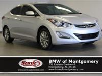 This 2015 Hyundai Elantra SE comes complete Sunroof,