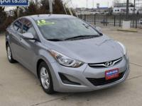 Check out this gently-used 2015 Hyundai Elantra we