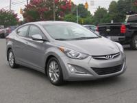 CARFAX One-Owner. Titanium Gray Metallic 2015 Hyundai