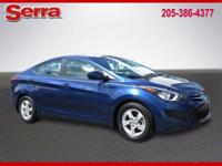 Lakeside Blue 2015 Hyundai Elantra SE FWD 6-Speed