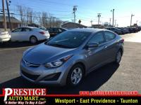 This amazing Elantra is just waiting to bring the right