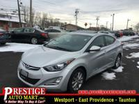 It just doesn't get any better!! This Elantra is simply