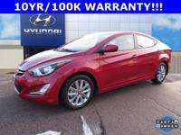Options:  2015 Hyundai Elantra