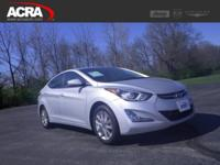 A few of this used Elantra's key features include: