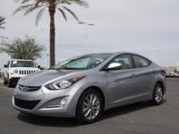 This 2015 Hyundai Elantra SE boasts features like a