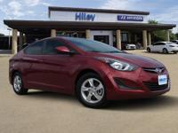 Venetian Red used 2015 Hyundai Elantra SE, FWD, 6-Speed