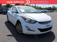 New arrival! 2015 Hyundai Elantra SE! This vehicle has