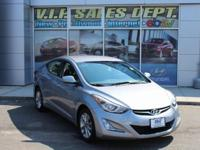 Shale Gray Metallic 2015 Hyundai Elantra SE FWD 6-Speed